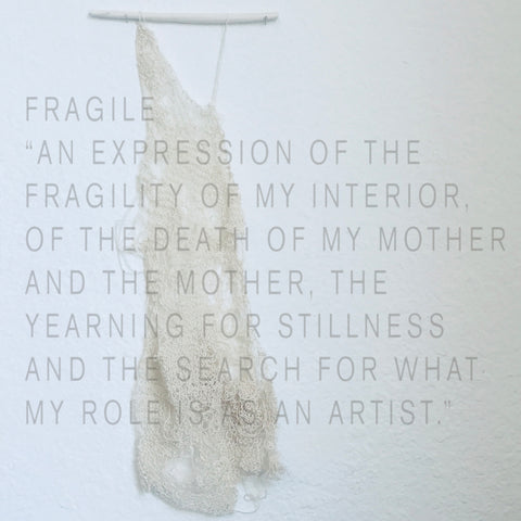 Nan Collymore_Jewelry_Fragile Wall Hanging_Poet and the Bench