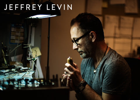 Jeffrey Levin Jewelry_Poet and the Bench