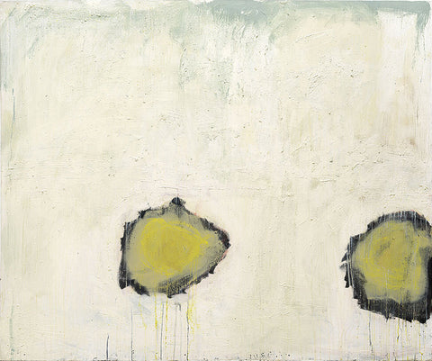 Laura Roebuck It Ended with a Moth Abstract Painting