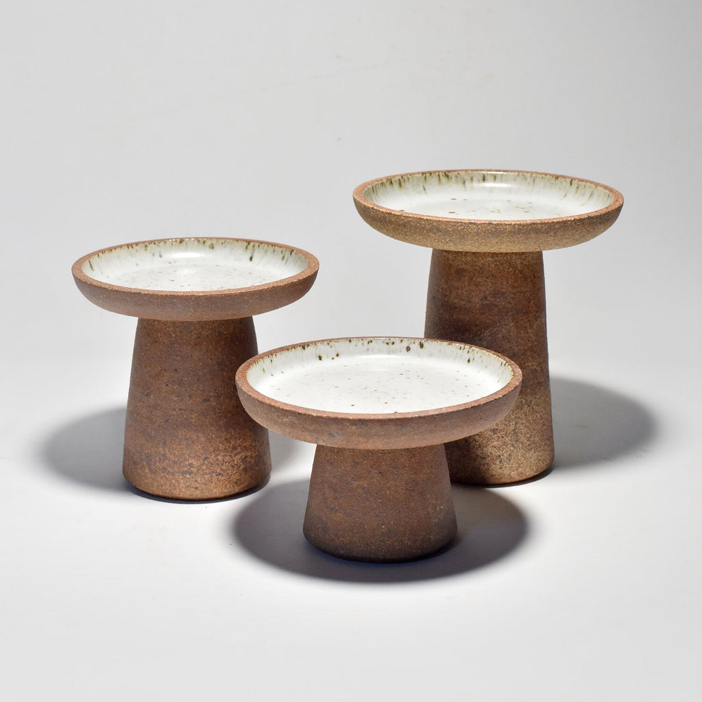 Bob Dinetz Candle Stands in Low, Medium and High.