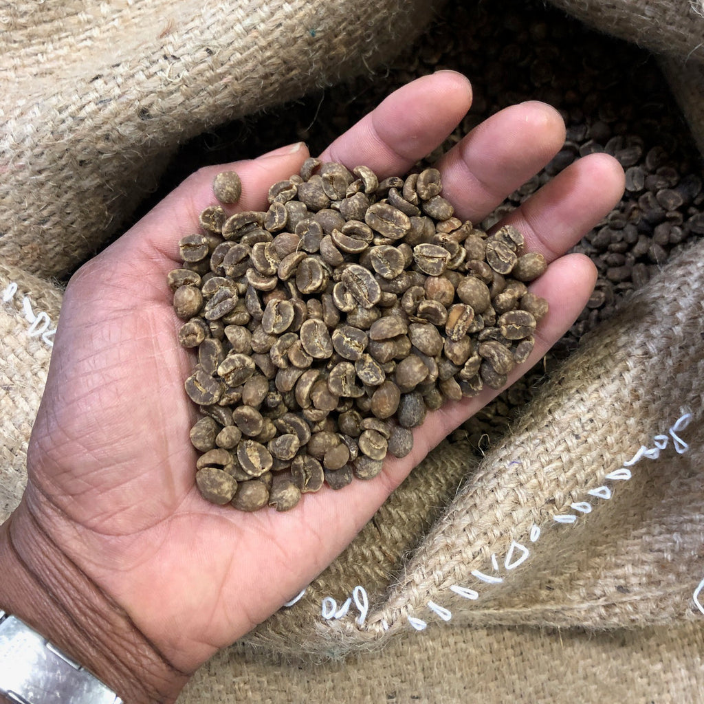 Cute Coffee roasts green coffee beans to pull the sweetness for a dynamic farm to cup of coffee