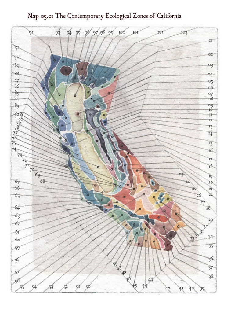 "The California Field Atlas_Obi Kaufmann. Obi says about his tome, The California Field Atlas, ""It's my love story to California."""