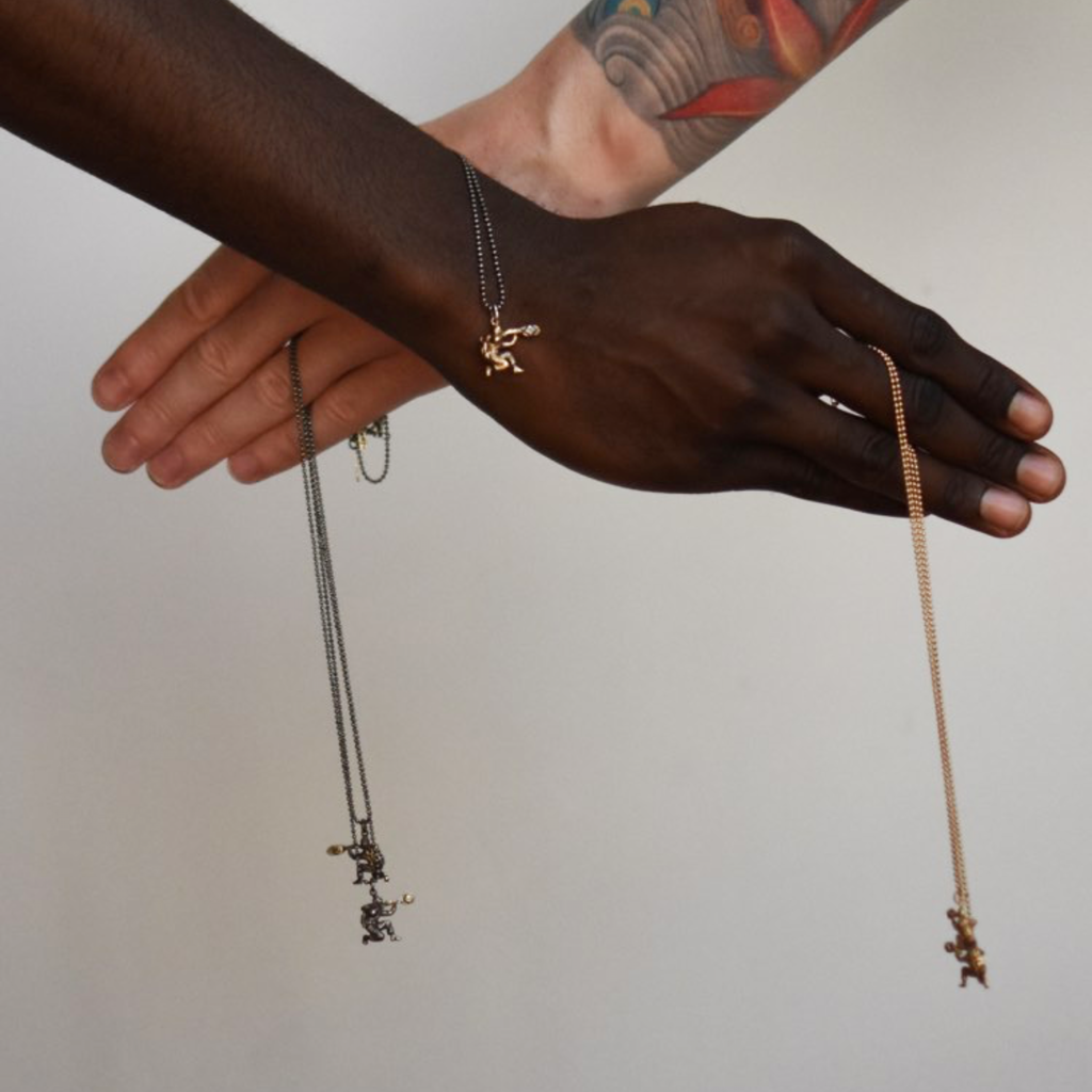 Create change through a better world with Franny E Peacekeeper necklace.