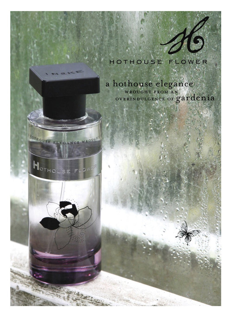 Ineke Hothouse Flower is a tribute to the lush, creamy scent of gardenia and layered with green grassy notes to temper the floral intensity. A legendary hothouse flower that needs extra love and attention, gardenia is a flower that has always made a dramatic statement from Billie Holiday's hair to French gentlemen's boutonnières.