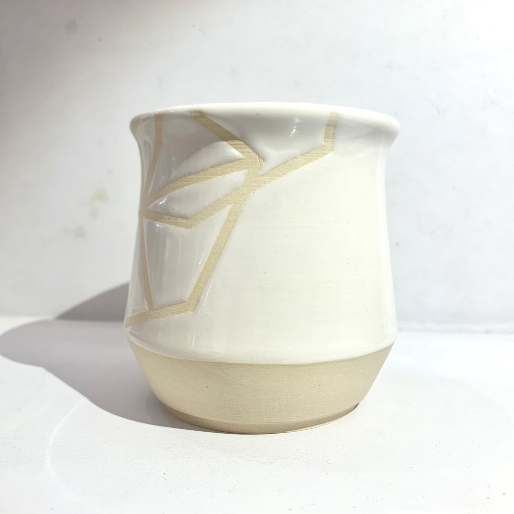 Julems Ceramics x Poet and/the Bench element mug side view