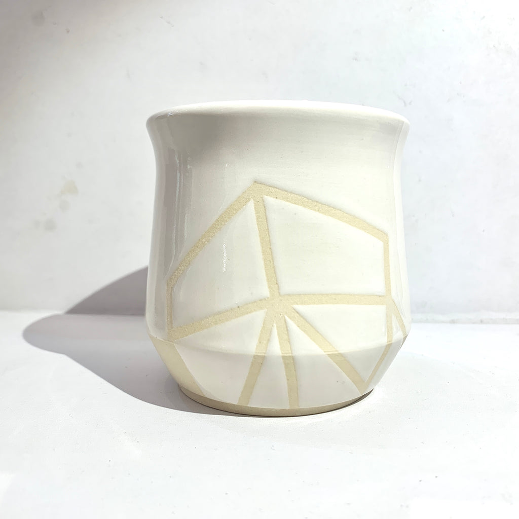 Julems Ceramics x Poet and/the Bench Mug front view