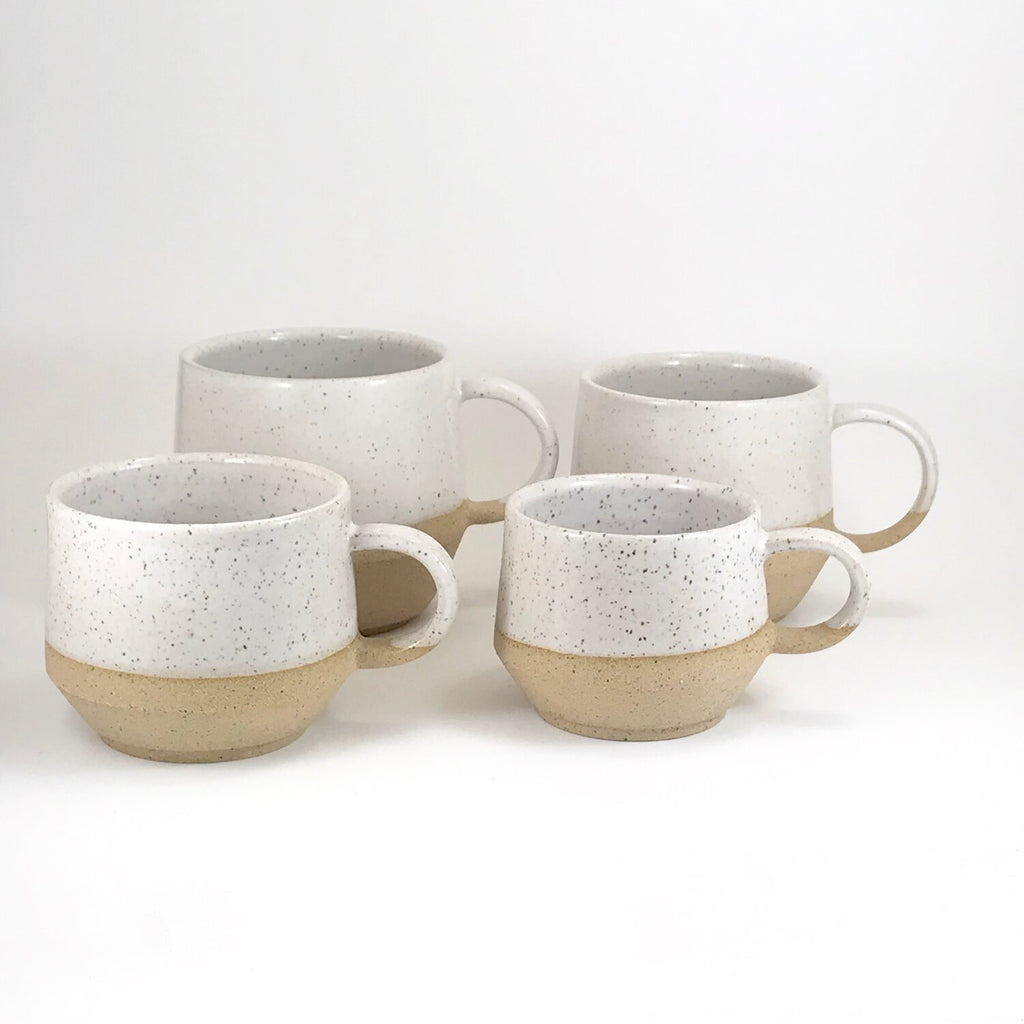 Julems ceramic mugs in 14oz and 10oz sizes