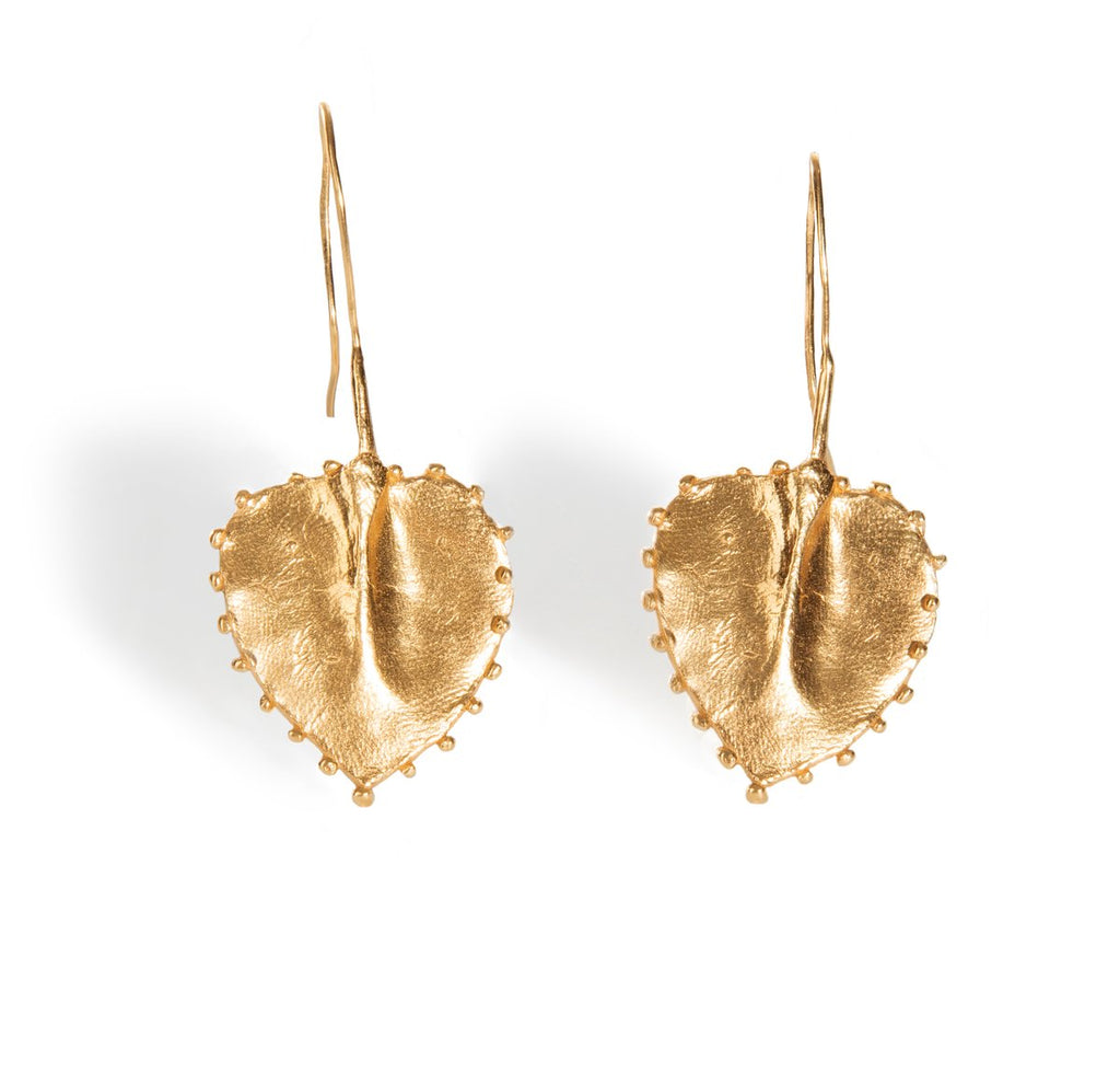 The Generous Eden are the larger version of the Darling Eden earrings.
