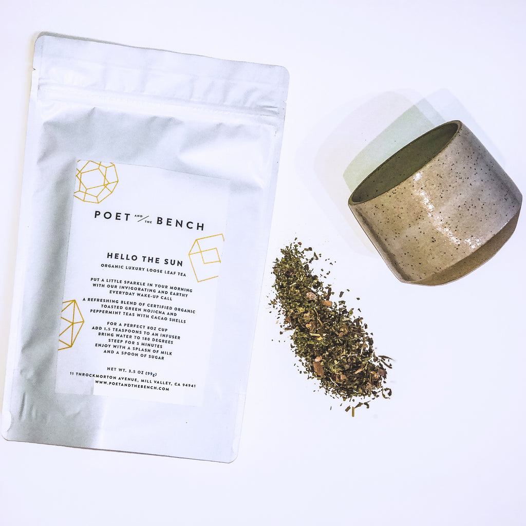 Our new luxury tea will put a little sparkle in your morning  with our invigorating and earthy everyday wake-up call.