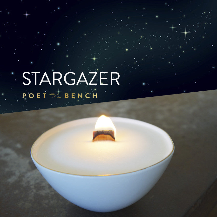 PB Stargazer Stimulating White Candle - 8oz - CDW