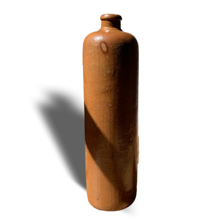 The other side of the caramel glazed bottle, found in Eastern Europe, originally from Germany.