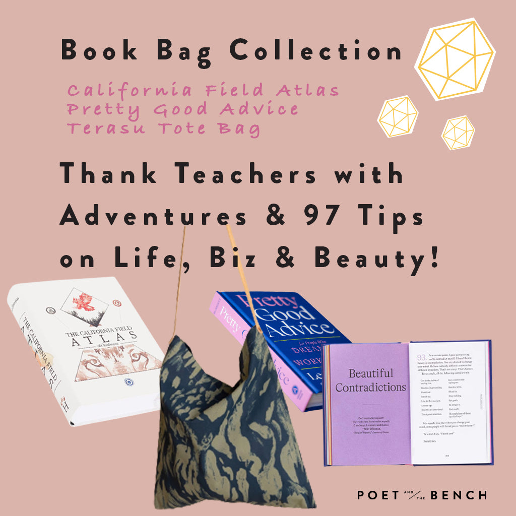 Teacher Appreciation. Gift great inspiration with good reads for travel and life + business adventures