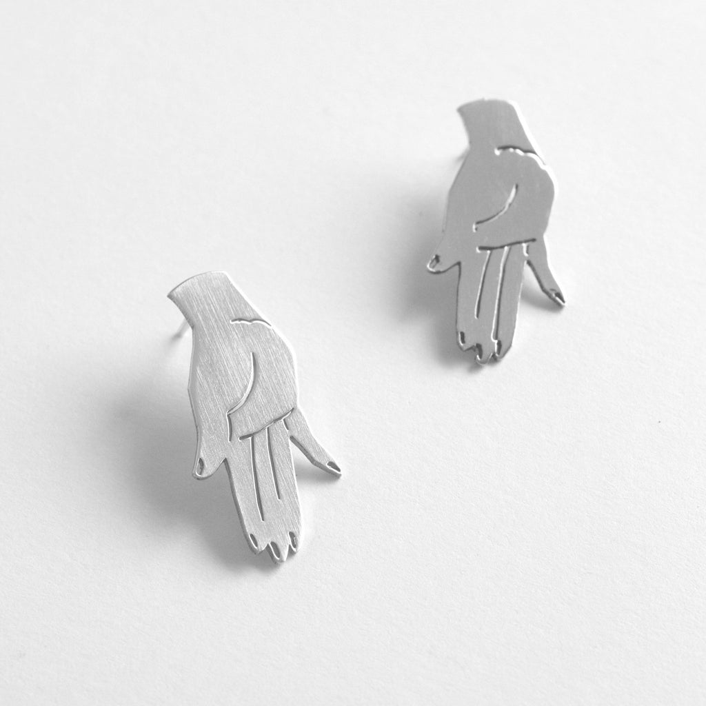 Hands down our favorite earrings. Hands. Open to receive, the open hand is a gesture of self love.