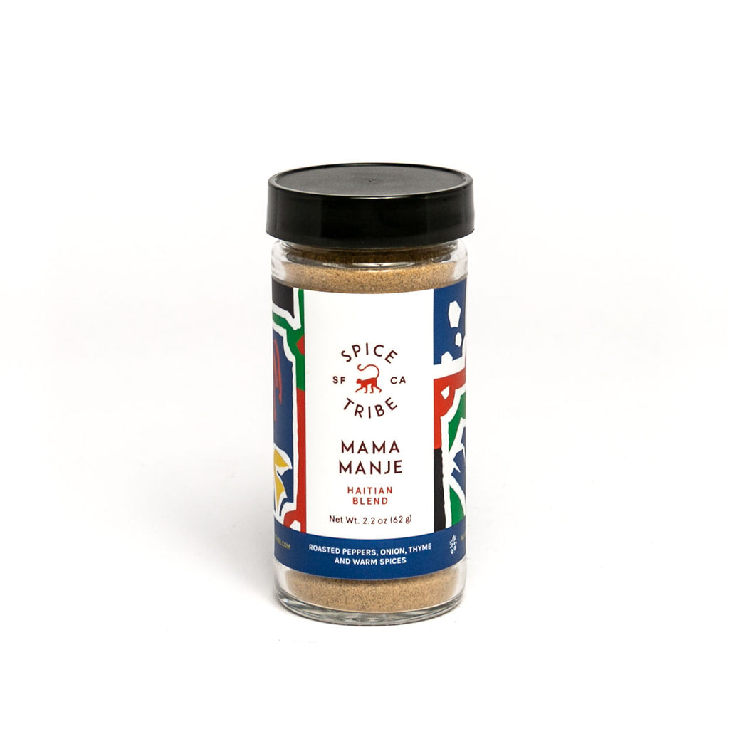 Spice Tribe Mama Manje (adds Caribbean flare and medium to high spicy heat