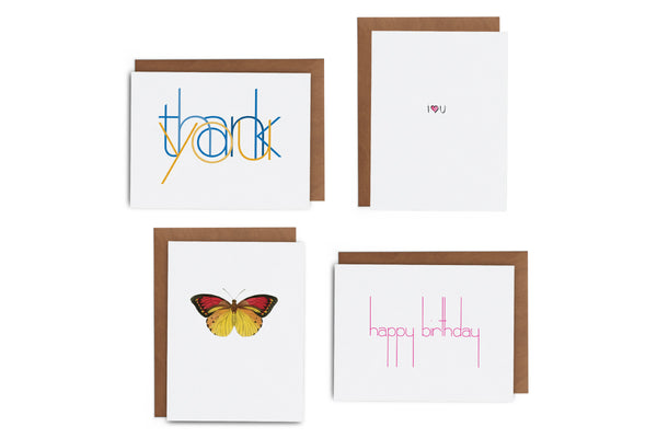 2019 February Greeting Card Subscription Box - Lost Art Stationery