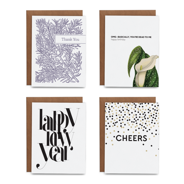 2020 January Greeting Card Stationery Subscription