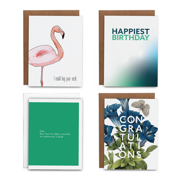 2019 June Greeting Card Subscription - Lost Art Stationery