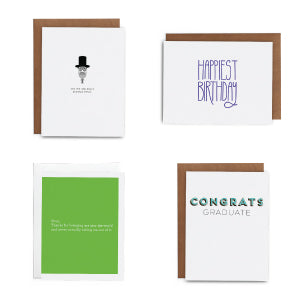 May Greeting Card Subscription Box - Lost Art Stationery