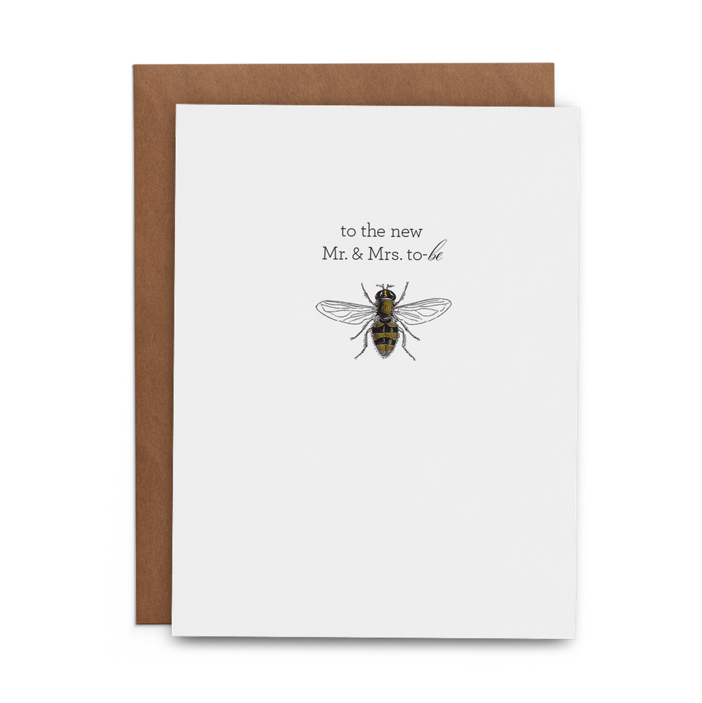 To the New Mr. & Mrs. To-be - Lost Art Stationery