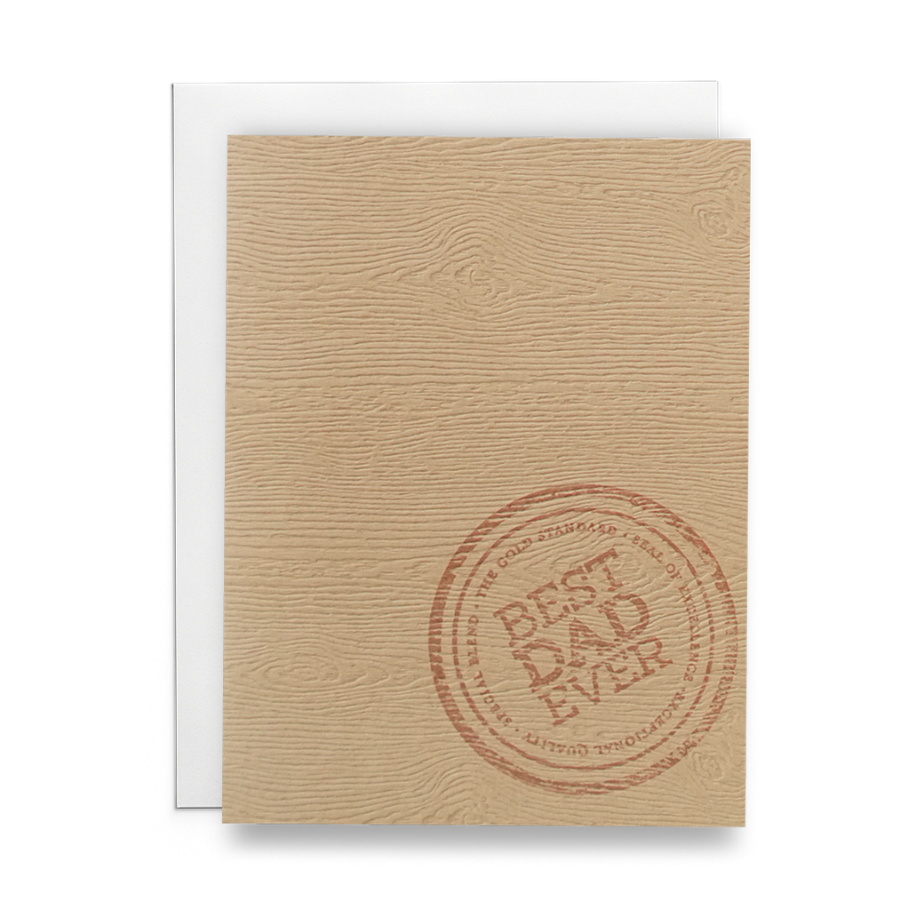 Best Dad Ever - Lost Art Stationery