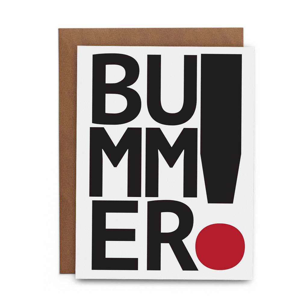 Bummer! - Lost Art Stationery