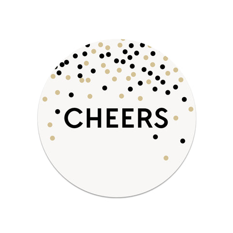 Cheers Paper Coasters - Lost Art Stationery