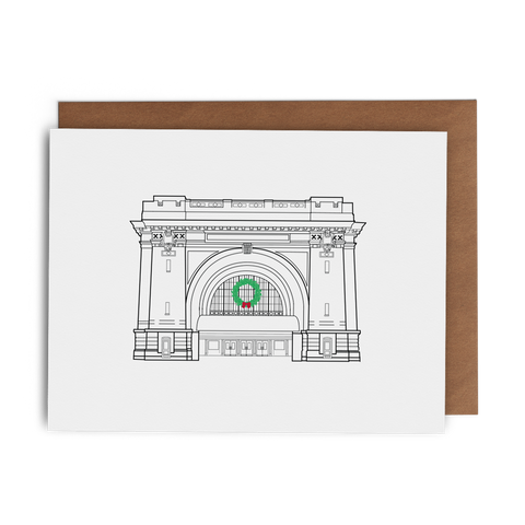 Christmas at the Chattanooga Choo Choo - Lost Art Stationery