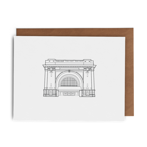 Chattanooga Choo Choo Greeting Card - Lost Art Stationery