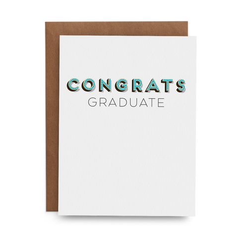Congrats Graduate - Lost Art Stationery