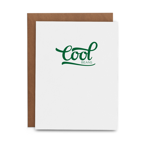 Cool Beans - Lost Art Stationery