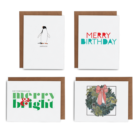 2019 December Subscription Box - Lost Art Stationery