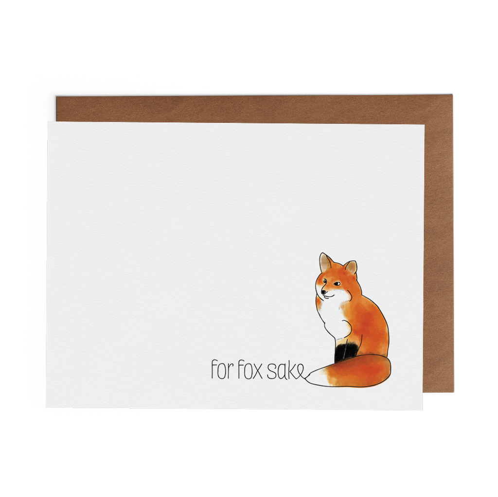 For Fox Sake - Lost Art Stationery