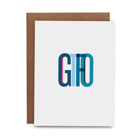 GTFO - Lost Art Stationery