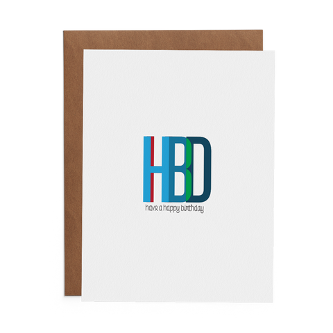 Have a Happy Birthday - Lost Art Stationery