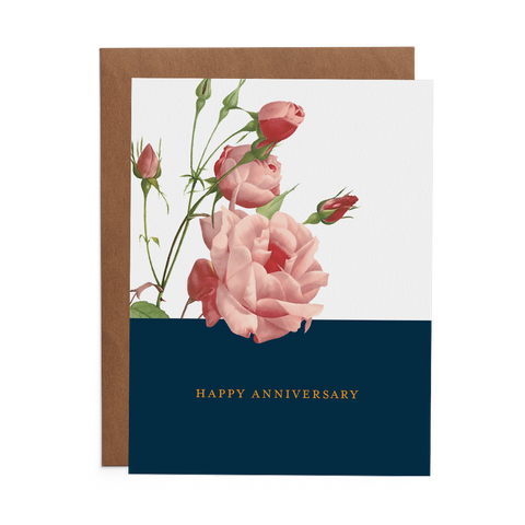 Happy Anniversary - Lost Art Stationery