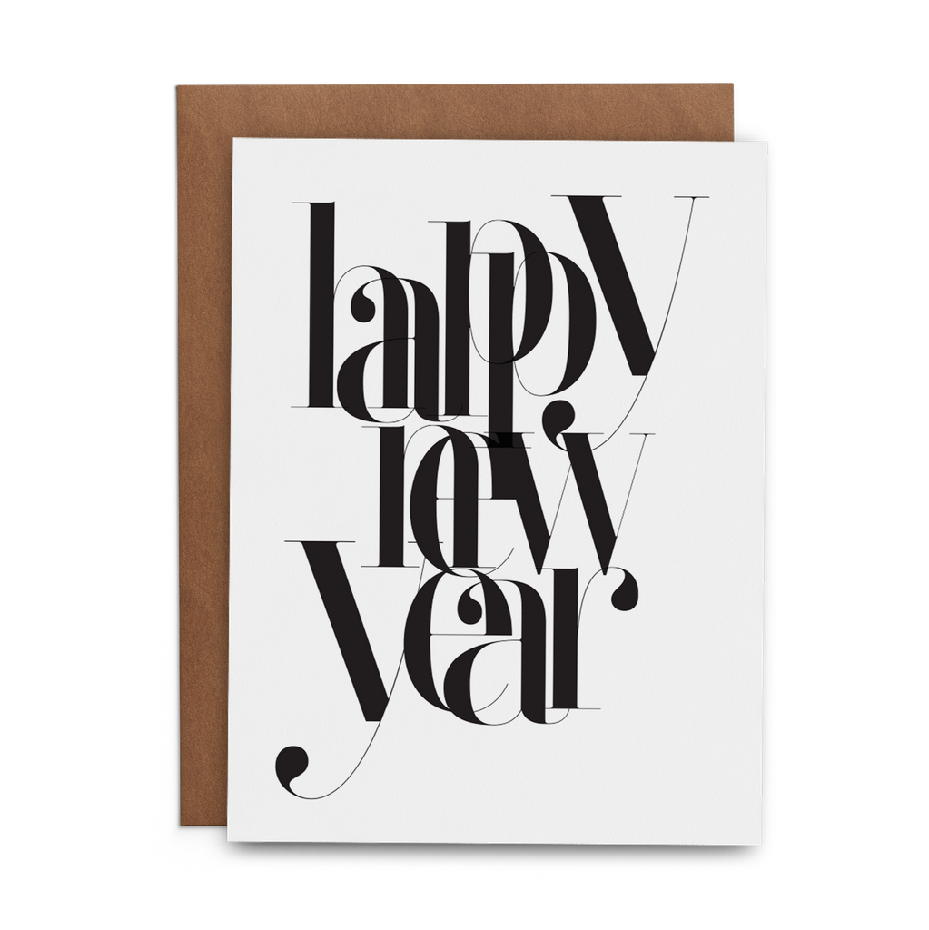 Happy New Year - Lost Art Stationery