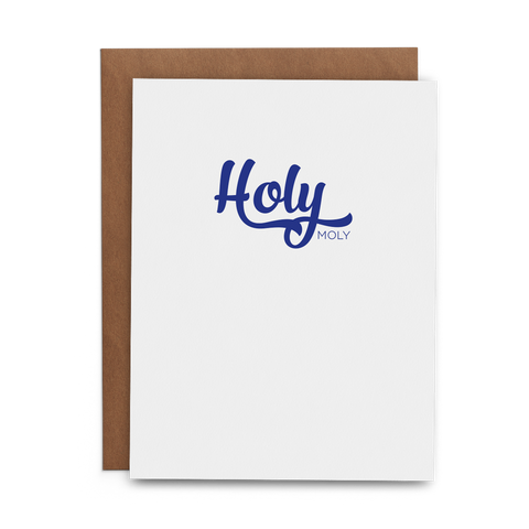 Holy Moly - Lost Art Stationery