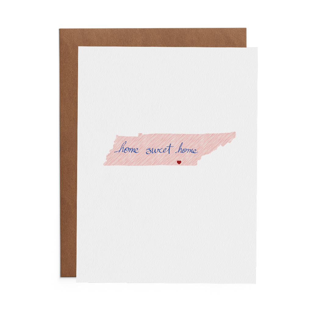 Home Sweet Home - Lost Art Stationery