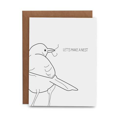 Let's Make a Nest - Lost Art Stationery