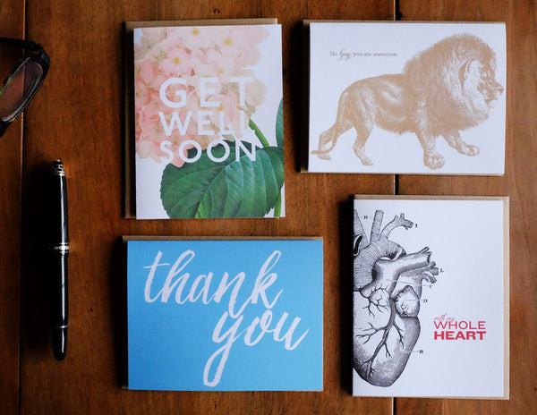 Monthly Greeting Card Subscription Box - Lost Art Stationery