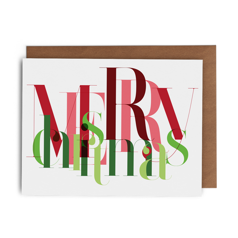 Merry Christmas: Mess, Madness Mayhem - Lost Art Stationery