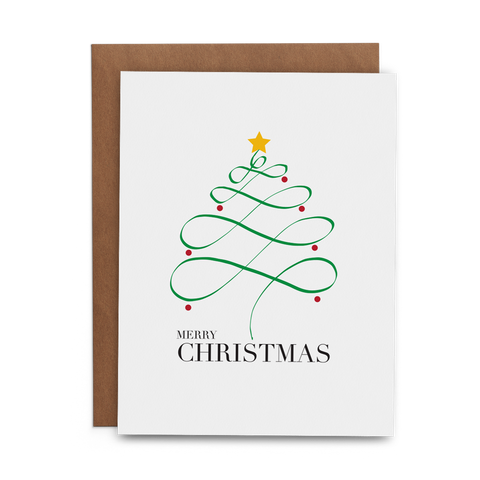 Merry Christmas - Lost Art Stationery
