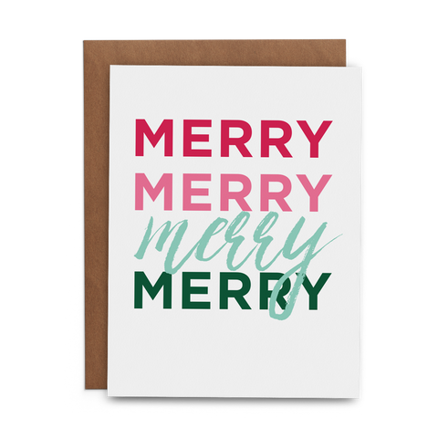 Merry Merry Merry Merry - Lost Art Stationery