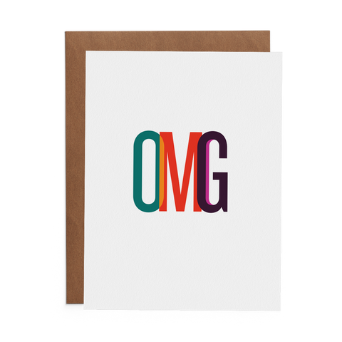 OMG - Lost Art Stationery