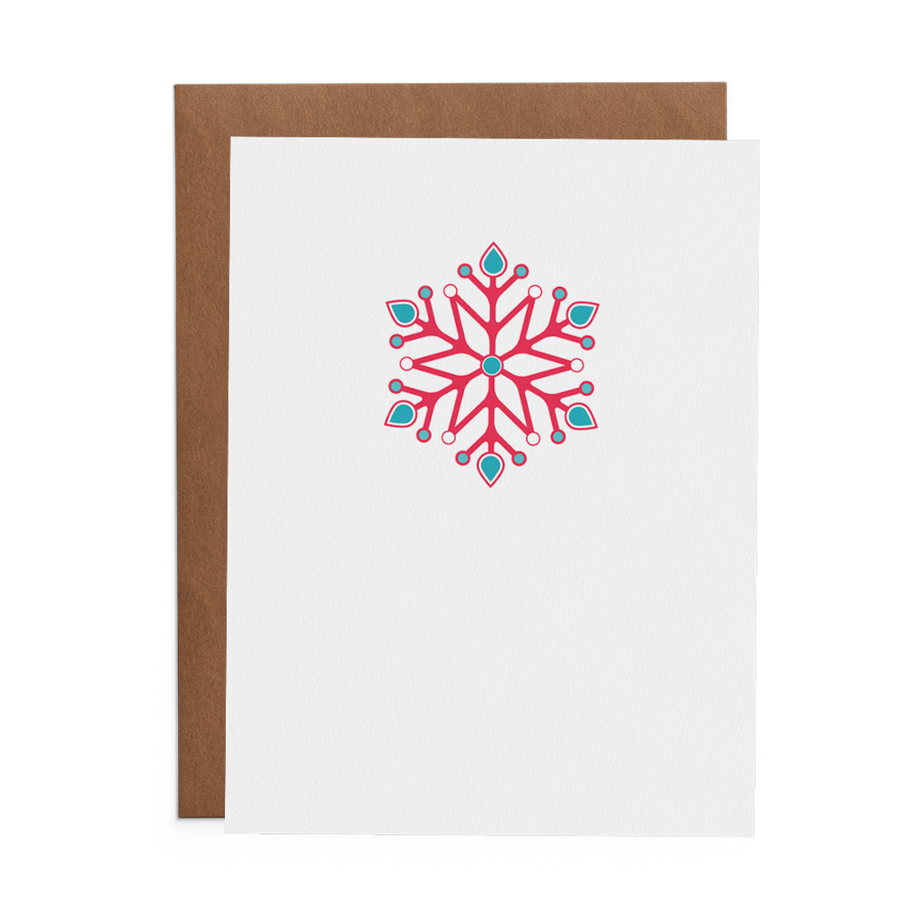 Snowflake - Lost Art Stationery