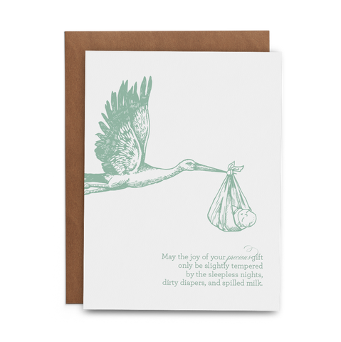 Precious Gift Greeting Card - Lost Art Stationery