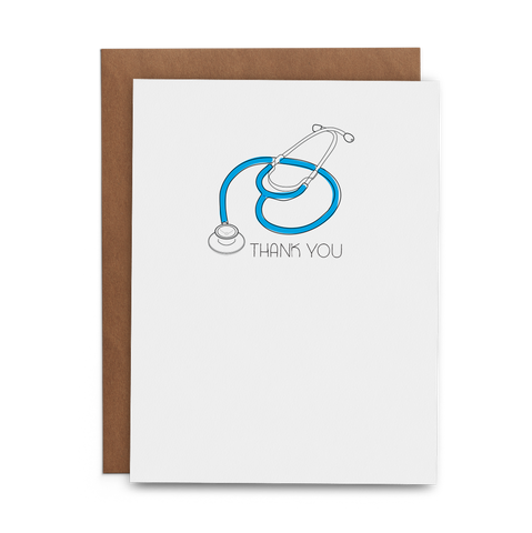 Thank You Healthcare Professionals - Lost Art Stationery