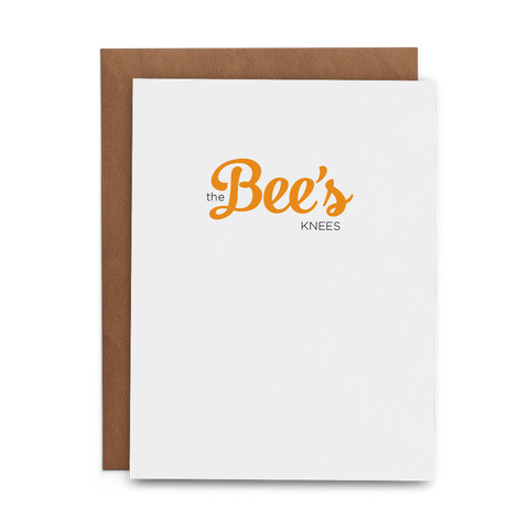 The Bee's Knees - Lost Art Stationery