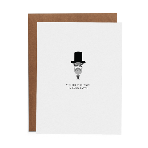You Put the Fancy in Fancy Pants - Lost Art Stationery