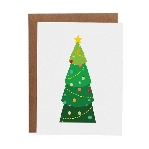 Christmas Tree - Lost Art Stationery
